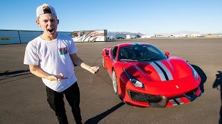 ADDING A FERRARI 488 PISTA TO THE COLLECTION!! *NEW CAR REVEAL*