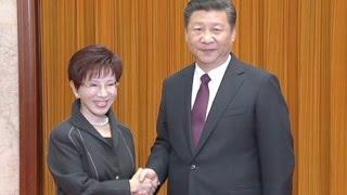 Xi Jinping Meets KMT Leader Hung Hsiu-chu for Cross Strait Ties