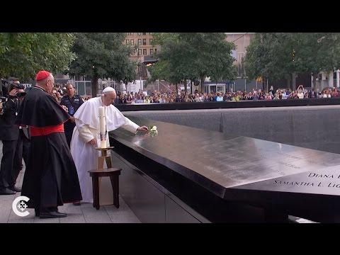 Pope Francis visits ground zero