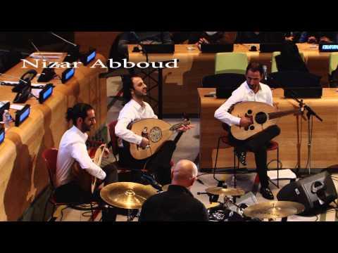 Palestinian Oud Joubran Trio at UN