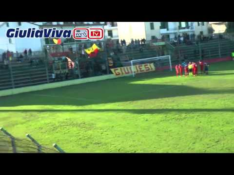 Tutti i gol di  Giulianova  Jesina  Stadio Rubens Fadini domenica 9 novembre 2014