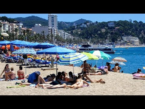 Lloret de Mar Beach Catalonia Spain