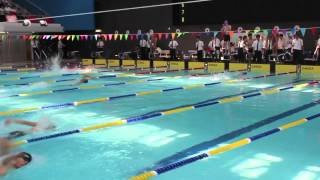 Swimming Gala 2012 Interclass 4x50 A Grade Free Style