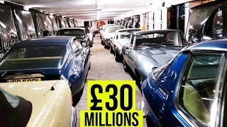 £30 Million Pounds Cars in one video | Classic Car Heaven in London