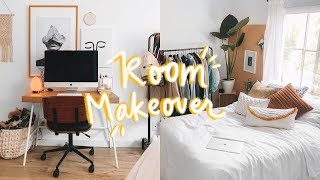 EXTREME ROOM MAKEOVER + ROOM TOUR (2019) 🛠 Lone Fox