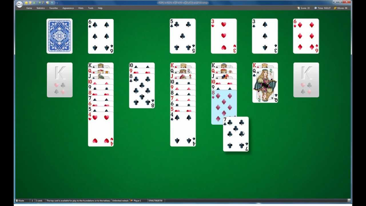 how to play solitaire pdf