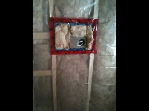 How to install insulated ceiling IC recessed pot lights vapor barrier