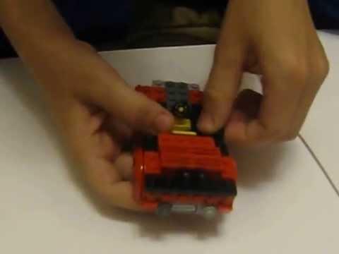 Как сделать из лего форд мустанг видео