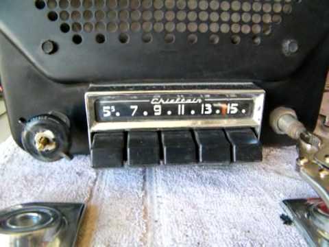 Radio 1950 1950 Pontiac Radio For Ebay