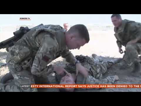 2 RIFLES Train in Cyprus Before Afghan Tour 12.08.14