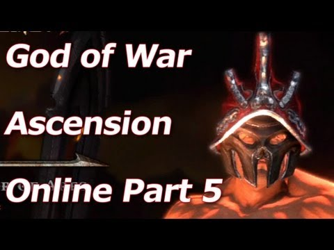 God of War: Ascension - Ares Customization Options - Multiplayer Walkthrough Part 5 - HD