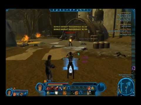 World of Warcraft: Mist of Pandaria vs Star wars: The Old Republic Beta (Gameplay)