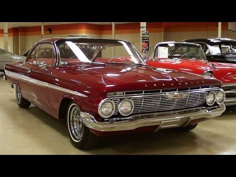 1961 Chevrolet Impala 409 V8 Four-speed bubble top