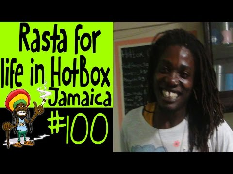 Rasta for life in HotBox Jamaica