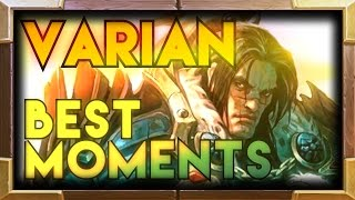 Varian Wrynn Hearthstone TGT Moments | Grand Tournament Best Funny Lucky Hearthstone Moments