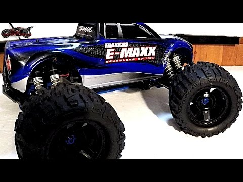RC Car Reviews - MAXX MONSTER! Traxxas Brushless E-MAXX My Review (2017)