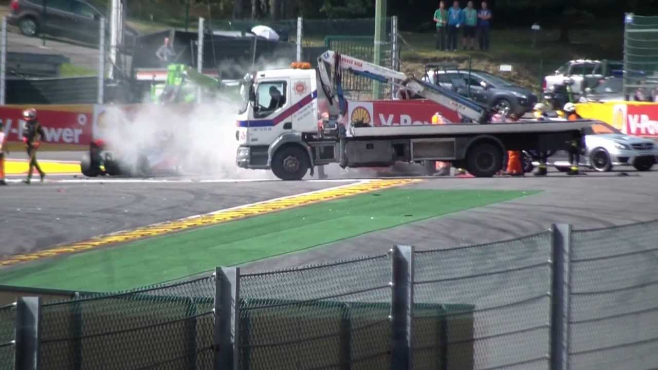 Formula Crash Crash Formula One 2012 Belgium