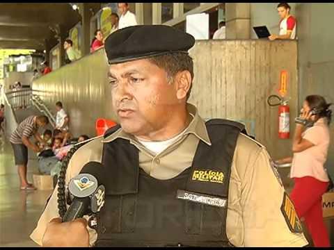 Sargento PM fala sobre retirada de mendigos da região da rodoviária