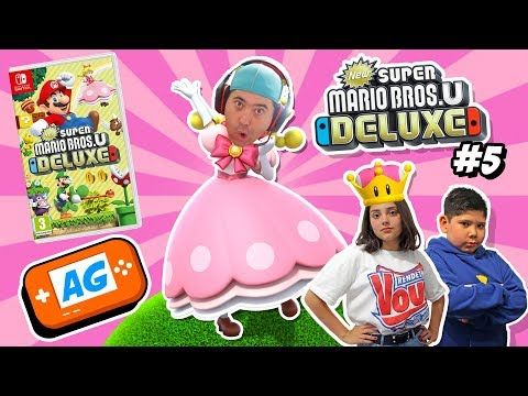 Mis SEGUIDORES DECIDEN en Super Mario Bros U DELUXE en Español capitulo #5
