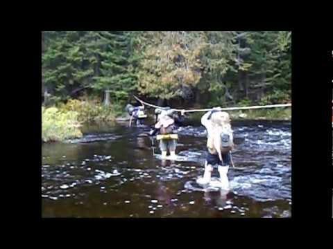 Appalachian Trail Loner #122 100 MILE WILDERNESS 2012 Thru Hike - YouTube