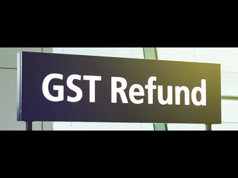 GST Refund-Step-by-step procedure . Please Subscribe