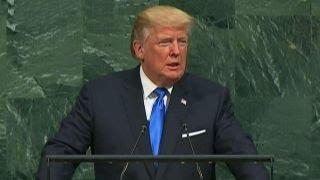 Liberal critics pan President Trump's UN address