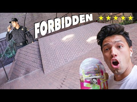 NYC'S MOST FORBIDDEN Skate Spots!