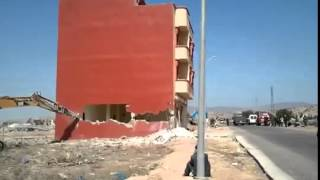 House Demolition in morocco