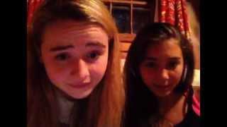 Sabrina Carpenter & Rowan Blanchard Ustream 6/29/13