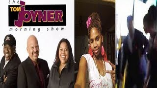 Tom Joyner Interviews Bus Uppercut Victim Shidea Lane She Lies The Whole Time