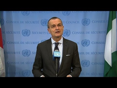 UN to send 12,000 peacekeepers to C.Africa Sept. 15