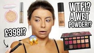 FULL FACE OF FIRST IMPRESSIONS - TESTING NEW HIGH END MAKEUP!