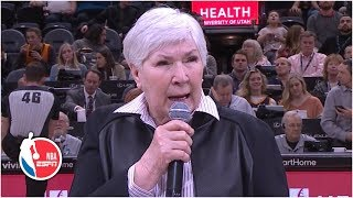 Jazz owner Gail Miller addresses crowd following Russell Westbrook incident | NBA on ESPN