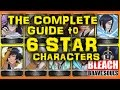 Bleach Brave Souls (Discussion): Cowboy's guide to 6 STAR Characters