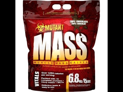 Mutant Mass Review: 14 lb Weight Gain in 10 days - The Best Weight Gainer?