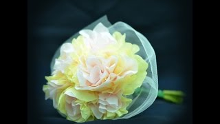 How to make tissue paper flowers: easy tutorial