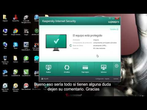 Kaspersky Internet Security 2014 español full licencia hasta el 2016