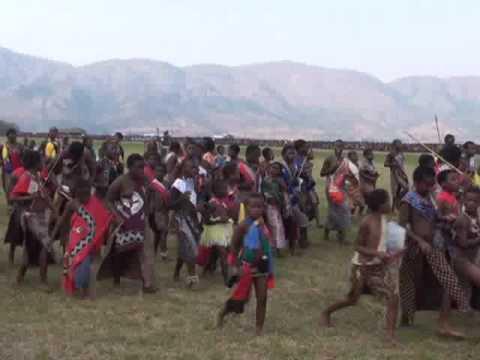 2009 Swaziland Reed Dance 史瓦濟蘭蘆葦節 典禮當天1 video