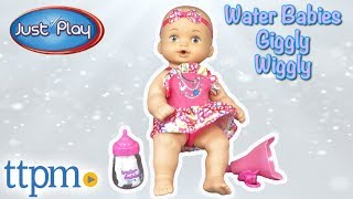 Water Babies Giggly Wiggly Dolls from Just Play