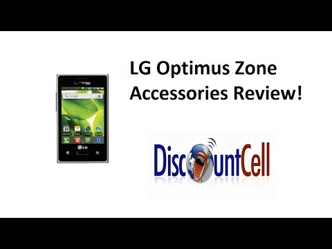 LG Optimus Zone Accessories Review | DiscountCell.com