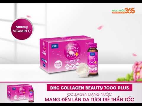 """DHC Collagen Beauty 7000 Plus dạng nước – """"Bí quyết"""" để sở hữu làn da tươi trẻ, tràn đầy sức sống của phụ nữ Nhật Bản"""
