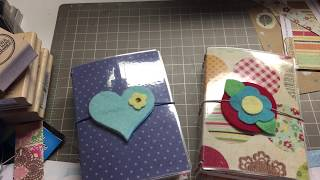 HOLIDAY CRAFT BOUTIQUE PROJECT 2018 - MINI TRAVELERS NOTEBOOKS
