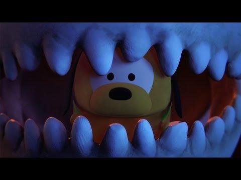 Night of the Crawling Tsums | A Tsum Tsum Short | Disney