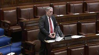 Irish politician's speech interrupted by his musical...