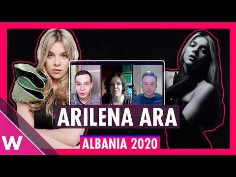 "Arilena Ara ""Shaj"" - Albania Eurovision 2020 REACTION | FiK 58"