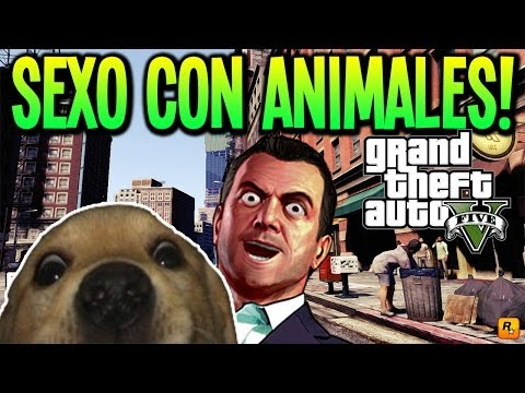Gta 5 Zoofilia!!! Sexo Con Animales Dentro De Gta V Easter Egg Rarisimooooo video