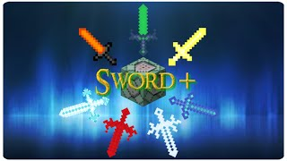 Sword+ in Vanilla Minecraft | ONLY TWO COMMAND BLOCKS (1.9)
