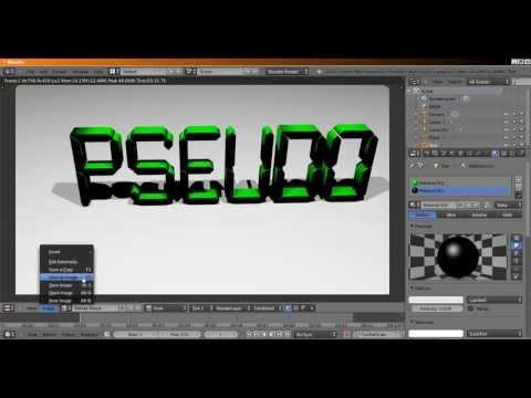 [TUTO] Faire un Pseudo 3D avec Blender (gratuitement)
