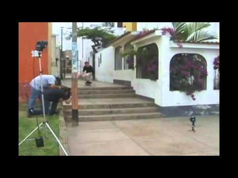 Van Wastell Verial Kickflip Double Set Peru 2004 By Joe Krolick