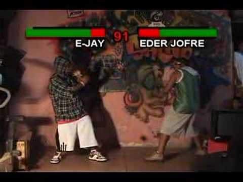 e jay versus eder jofre Video
